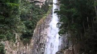 平成23年台風12号被害後の那智の滝1