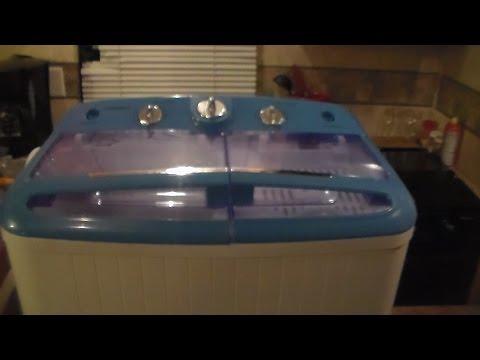 Solar powered off grid clothes washing machine