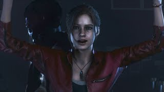 Resident Evil 2 Remake PlayStation 4 GamePlay Claire A No Commentary