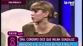 Dra Cordero trató de malas madres a mujeres del reality