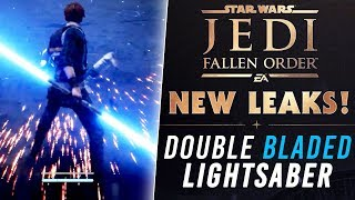 Double-Bladed Lightsaber LEAK & More! | Star Wars Jedi: Fallen Order