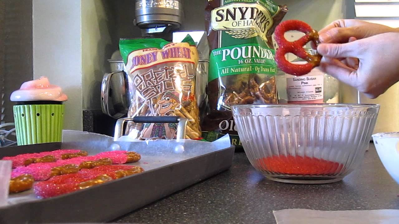 how to make chocolate covered pretzels youtube