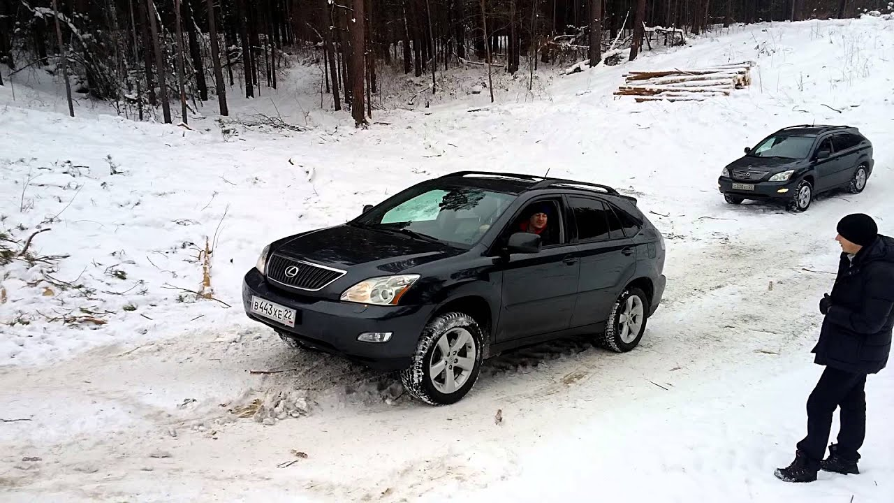 Lexus RX330 off road