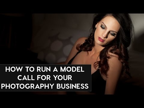 How to Run a Photography Model Call