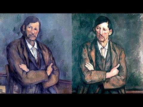 Paul Cézanne, El Greco, Portraits, Genre Scenes - Origins of Modern Art 2