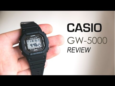 Casio G-SHOCK GW-5000-1JF Review [4K UHD]