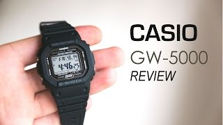 Casio G-SHOCK GW-5000-1JF Review