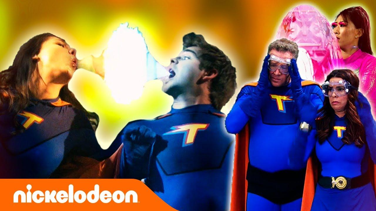 Грозная семейка | Сандермены вступают в супергеройскую лигу | Nickelodeon Россия