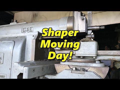 "32"" G&E Shaper Moving Day"
