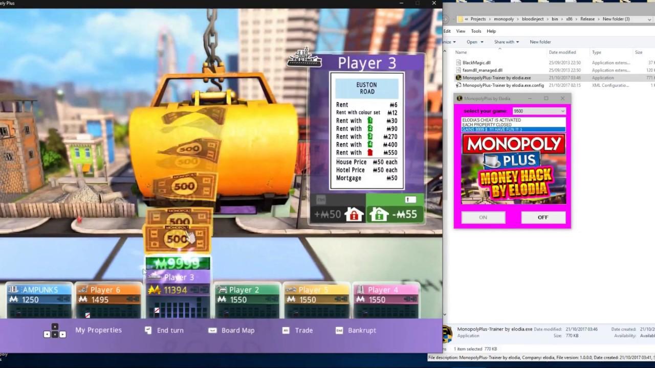 Monopoly Plus trainer