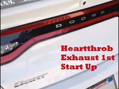 Heartthrob Exhaust First Start Up: 2013 Dodge Dart 2 0L