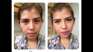 makeup today 1 (แต่งหน้าไปทำงานโทนม่วง) Thumbnail