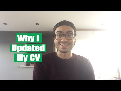 Aman ep. 12 - Why I Updated My CV | The Great Grad Job Hunt