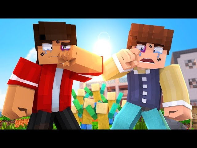 Minecraft School - The Fight: Zach vs Spencer? Sunnyside High Ep 11 (Minecraft Roleplay)