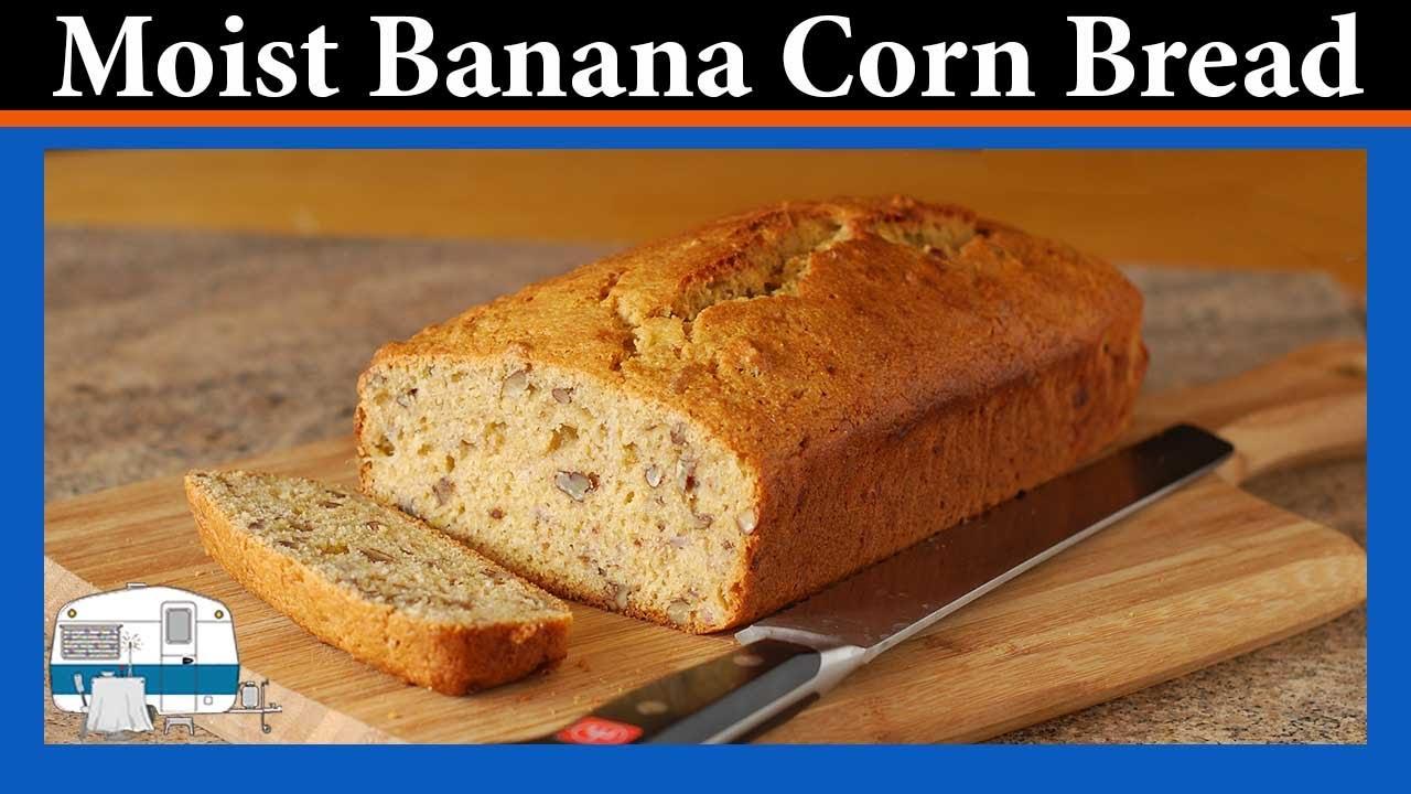 My recipe for banana corn bread youtube my recipe for banana corn bread forumfinder Images