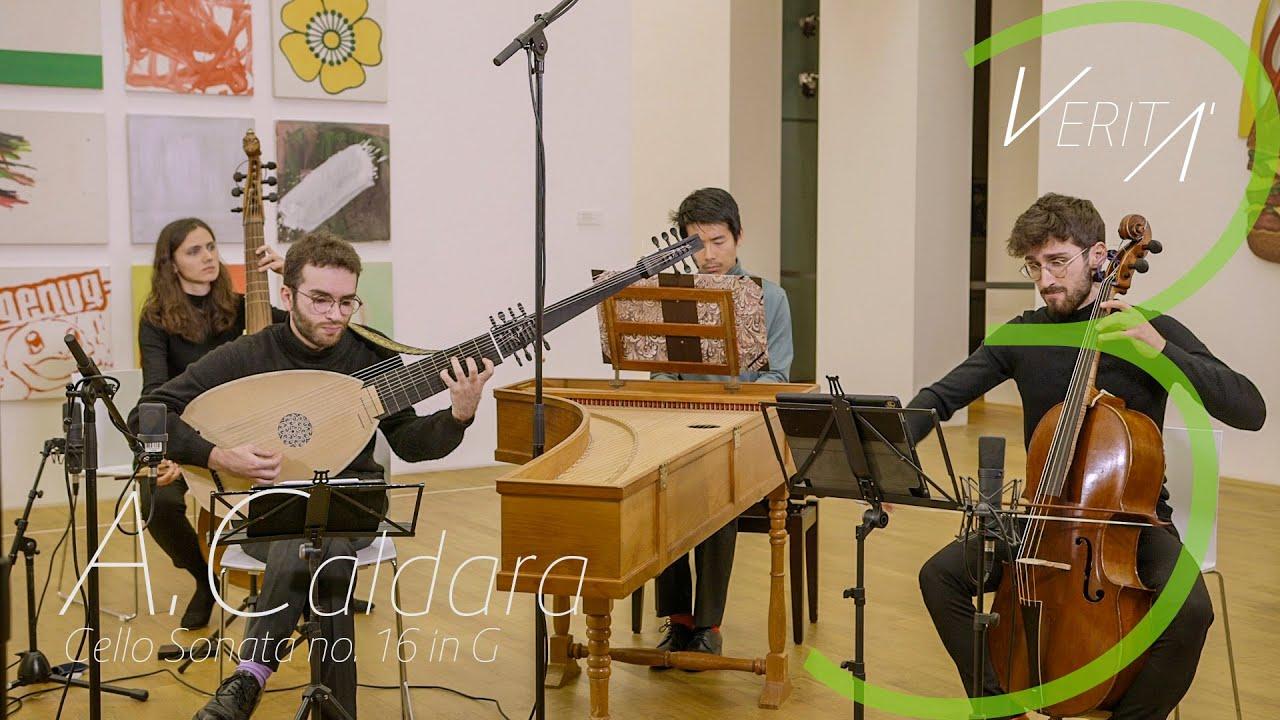 VERITÀ - A.Caldara - Cello Sonata no. 16 in G