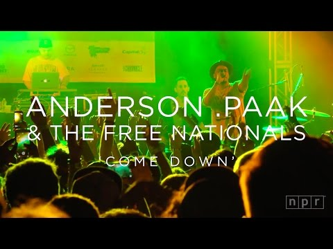 Anderson .Paak & The Free Nationals: 'Come Down' SXSW 2016   NPR MUSIC FRONT ROW
