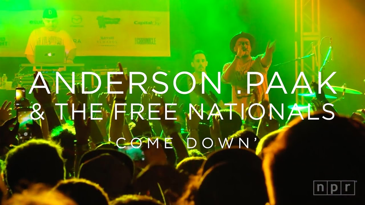 Anderson .Paak & The Free Nationals: 'Come Down' SXSW 2016 | NPR MUSIC FRONT ROW