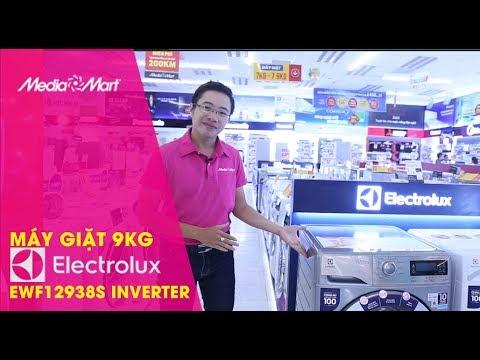 Máy giặt 9Kg Electrolux EWF12938S Inverter – Siêu sạch, diệt khuẩn