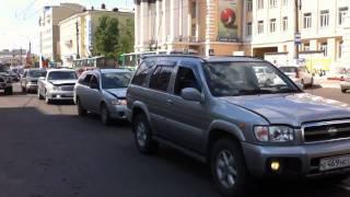 Акция протеста в Чите