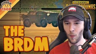 Gas Can Jebaiting and The BRDM - chocoTaco PUBG Gameplay