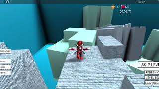I turned the fastest guy in the world Part 2 ROBLOX speed run