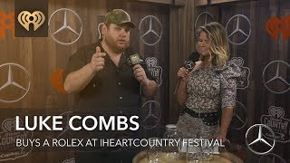 Download Luke Combs Had A 'Pretty Woman' Shopping Experience While Buying A Rolex Mp3 and Videos