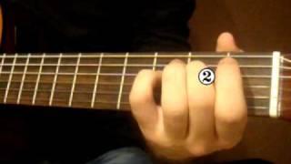 Видеоурок Кельтская гитара - Кукушка часть 2