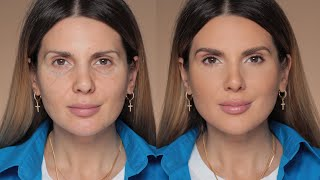 How to erase a fęw years off your face with makeup | ALI ANDREEA