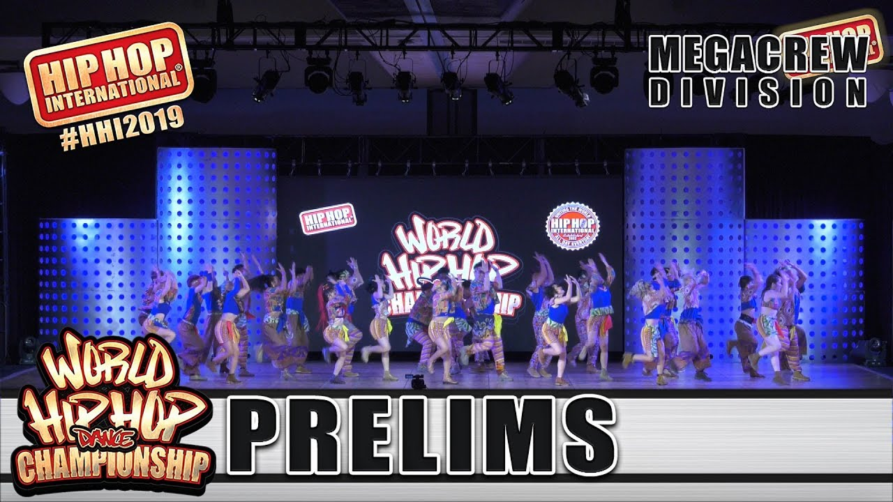 Power Impact Dancers - Philippines (MegaCrew) | HHI 2019 World Hip Hop Dance Championship Prelims