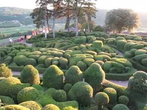 Topiary Gardens at Château de Marqueyssac, Dordogne