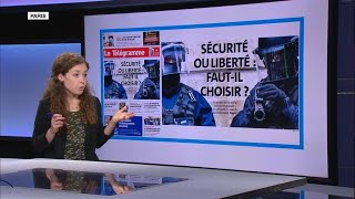 'Authoritarian and freedom-killing': French papers sound alarm over security bill