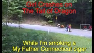 Girl Crashes on Tail of Dragon 'Deals Gap', My Father Connecticut Cigar, US129