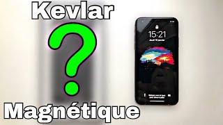 Meilleure Coque iPhone X, XS et XR : MagCase de Pitaka ?