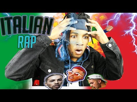 🇮🇹🇮🇹-REACTING TO AMAZING ITALIAN RAP/TRAP MUSIC |LAIOUNG,SFERA EBBASTA,VEGAS JONES