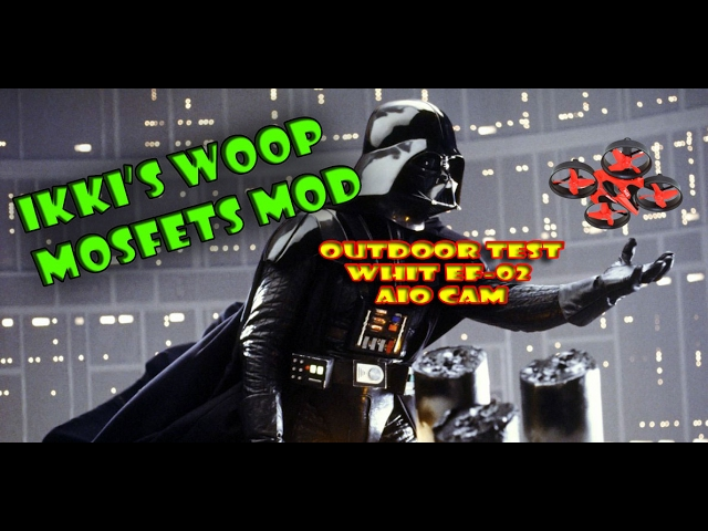 e010 mosfet mod outdoor test - ef-02 whit linear antenna