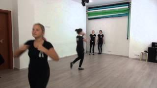 Студия Актер  Окрытый урок  Экзамен по танцу  Педагог  Делятицкая  Г А  16