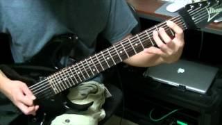 hammerhead shark - maze&king - guitar playthrough  - ibanez rg7621- seymour duncan ahb-1-7