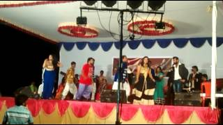 On stage recording dance