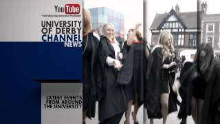 University of Derby on YouTube - Subscribe Now