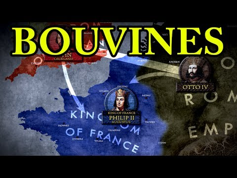 The Battle of Bouvines 1214 AD