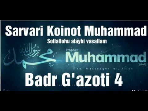 Abdulloh domla Siyrat 26-Dars Badr Ga'zoti 4