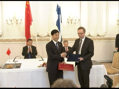 China, Finland Establishes Future oriented New type Cooperative Partnership