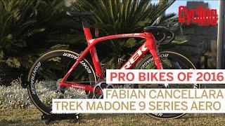 Pro Bikes of 2016: Fabian Cancellara's Trek Madone 9   Cycling Weekly