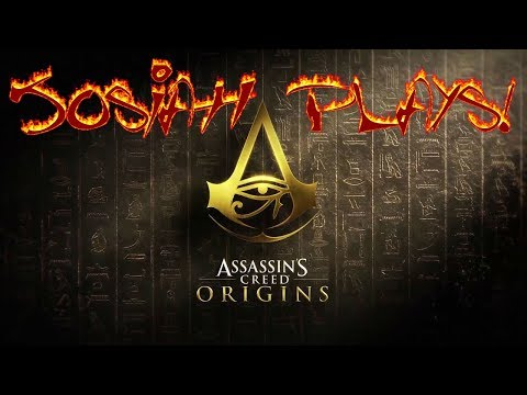 Assassin's Creed: Origins - Josiah Plays! - Part 16 [Blind] [1080p] [Twitch Stream] [PS4]