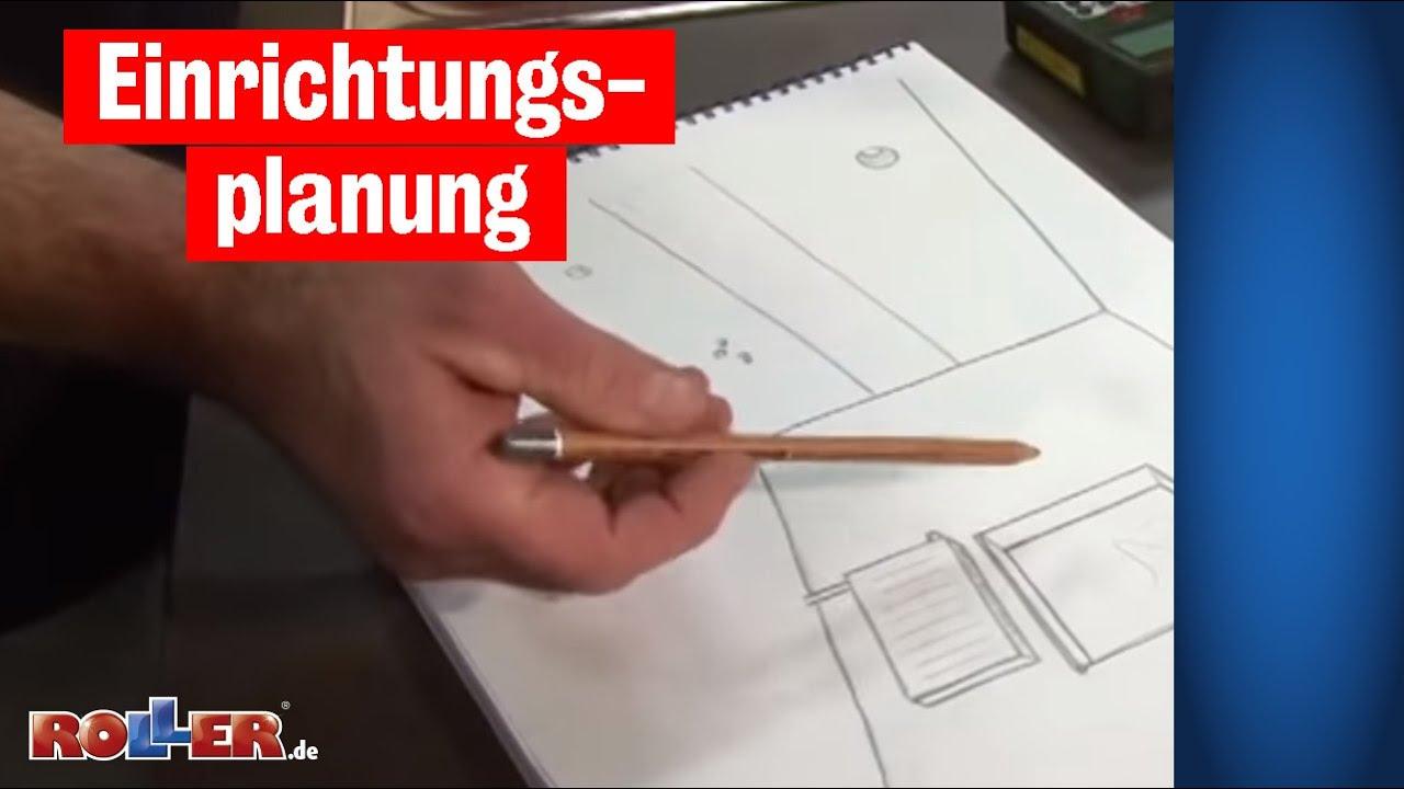 Einrichtungsplanung: Küche planen und ausmessen | Aufmaß - YouTube