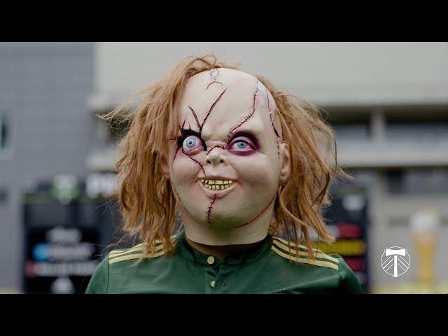 Child's Play: How Sebastián Blanco hid his Chucky mask