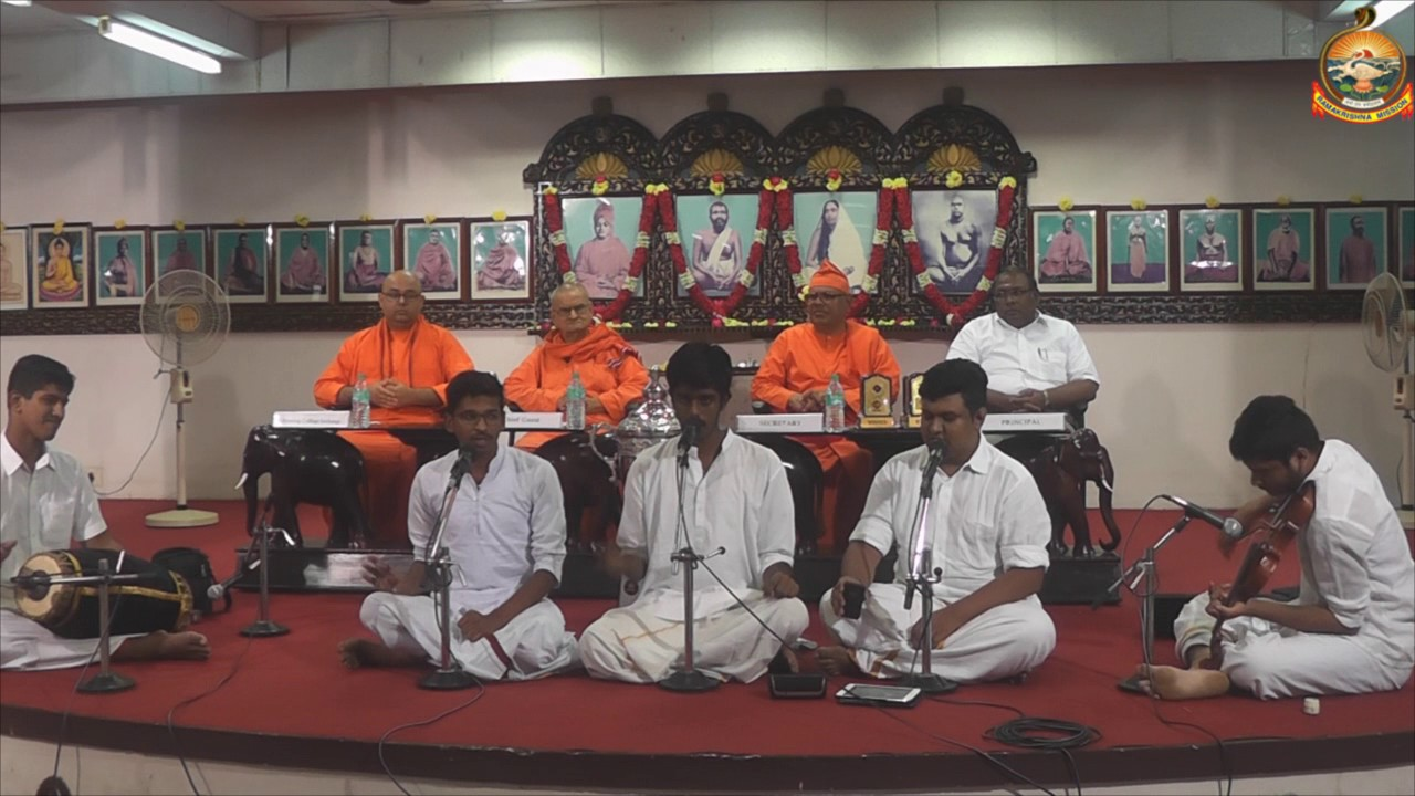 Students Classical Bhajan 2016