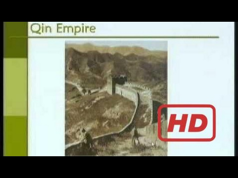 History Of East Asia  Asian Civilization-Part17-Qin/Chin Dynasty (221 - 206 BC)