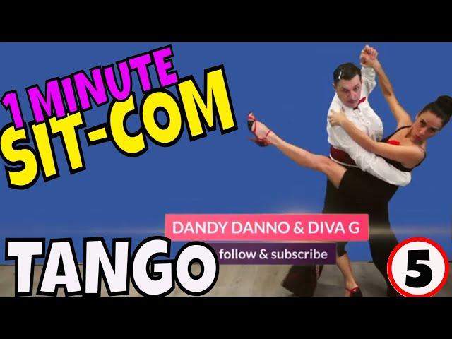 1 MINUTE SIT COMEDY #5 DANDY DANNO & DIVA G | Tango Shorts